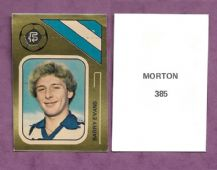 Greenock Morton Barry Evans 385